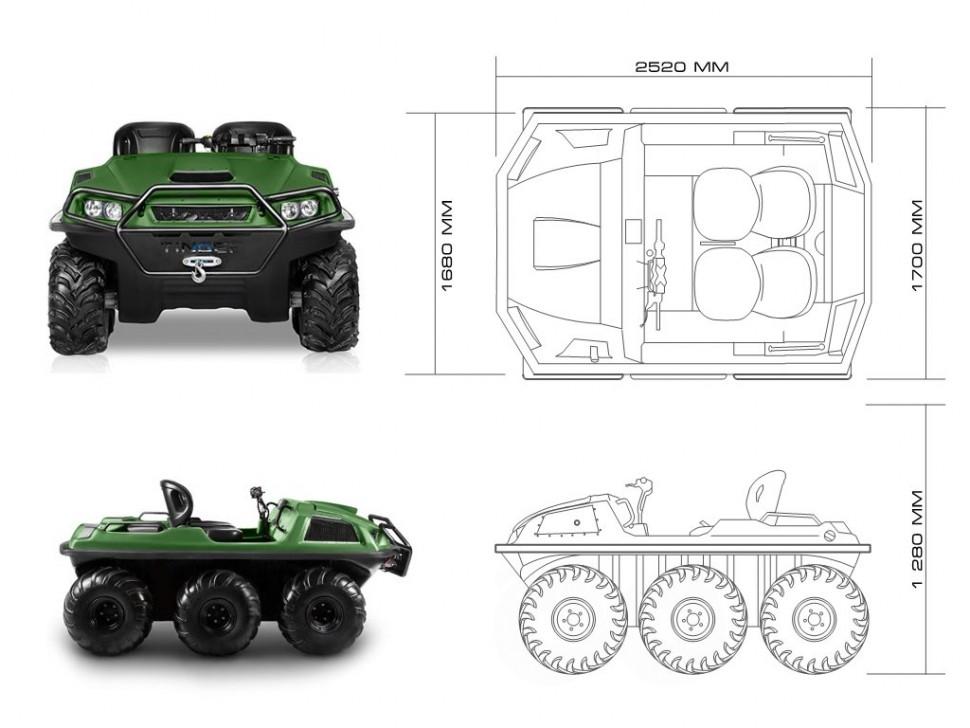 Картинки по запросу Снегоболотоход Tinger Armor W6