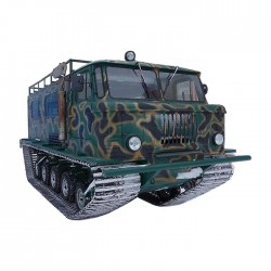 Вездеход ГАЗ-66 «Шишига» на гусеничном шасси Егоза